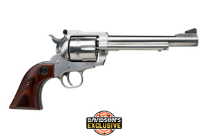 Ruger Revolver: Single Action New Model Blackhawk Stainless - Click to see Larger Image
