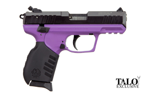 Ruger Pistol: Semi-Auto SR22-PG Ruger Lady Lilac TALO Edition - Click to see Larger Image