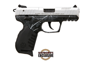 Ruger Pistol: Semi-Auto SR22 Rimfire Pistol Davidsons Exclusive - Click to see Larger Image