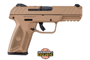 Ruger Pistol: Semi-Auto Security 9 Davidsons Exclusive - Click to see Larger Image