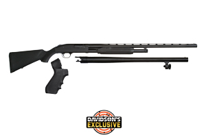 Mossberg Shotgun: Pump Action Model 500 3 In 1 Home Def, Hunting & Cruiser - Click to see Larger Image