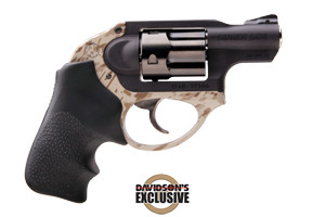 Ruger Revolver: Double Action Only LCR BDIG Camo, Davidsons Exclusive - Click to see Larger Image