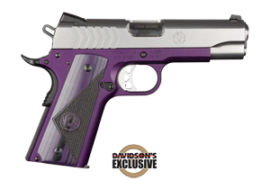 Ruger Pistol: Semi-Auto SR1911-CMD Lightweight Purple - Click to see Larger
