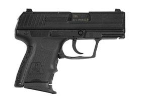 Heckler & Koch Pistol: Semi-Auto P2000 SK LEM V2 Subcompact - Click to see Larger Image