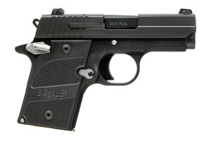 Sig Sauer Pistol: Semi-Auto P938 Nightmare Microcompact - Click to see Larger Image