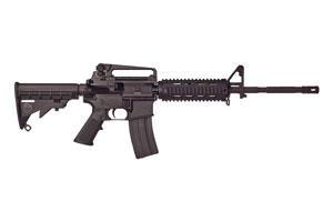 Bushmaster Rifle: Semi-Auto XM15 A3 M4 Type Carbine Quad Rail - Click to see Larger Image
