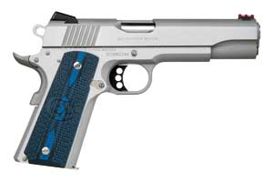 Colt Pistol: Semi-Auto Competition Government Stainless Steel - Click to see Larger Image