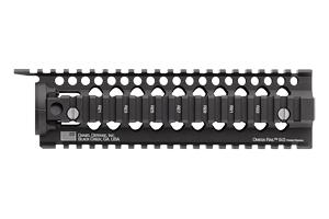 Daniel Defense Omega Rail 9.0 Mid Length   Black, Hard Coat Anodized