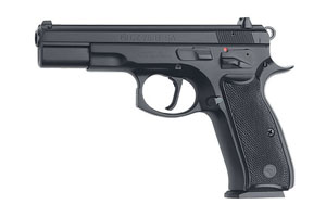 CZ-USA CZ 75 B SA (Single Action) Black Polycoat Single Action 40SW Black Polycoat