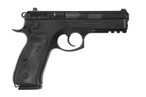 CZ-USA CZ 75 SP-01 Tactical Decocker Double Action 40SW Black Polycoat