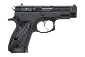 CZ-USA CZ 75 Compact - CA Approved Double Action 9MM Black Polycoat