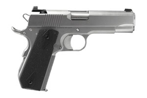 CZ-USA|Dan Wesson Dan Wesson V-Bob (Valor Bobtail Commander) Single Action 45AP Matte Stainless Steel