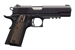 Browning Pistol: Semi-Auto 1911-22A1 Black Label Laminate W/ Rail - Click to see Larger Image