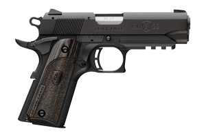 Browning Pistol: Semi-Auto 1911-22A1 Compact Black Label Laminate W/ Rail - Click to see Larger Image