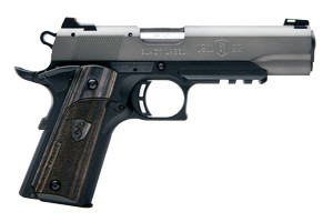Browning Pistol: Semi-Auto 1911-22 Black Label Gray Full Size Rail - Click to see Larger Image