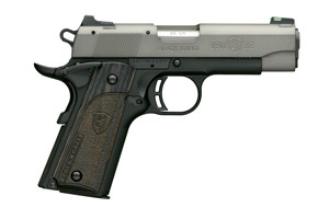 Browning Pistol: Semi-Auto 1911-22 Black Label Gray Compact - Click to see Larger Image