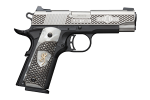 Browning Pistol: Semi-Auto 1911-380 Black Label High Grade Pearl Grips - Click to see Larger Image