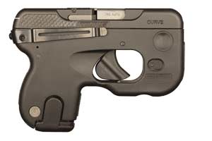 Taurus Pistol: Semi-Auto 180 Curve With Viridian Laser - Click to see Larger Image