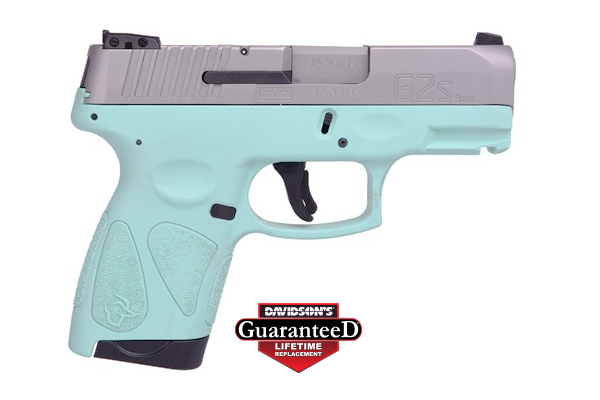 Taurus Pistol: Semi-Auto G2S SLIM Cyan - Click to see Larger Image