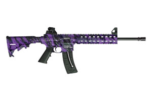Smith & Wesson Rifle M&P15-22 Purple Platinum - Click to see Larger Image