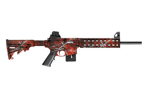 Smith & Wesson Rifle M&P 15-22 Harvest Moon Orange - Click to see Larger Image
