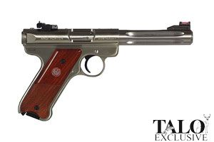 Ruger Semi-Automatic Pistol Mark III TALO Special Edition KMKIII512H - Click to see Larger Image