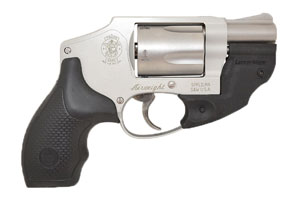 Smith & Wesson Model 642 - with Laser Max Laser Double Action Only 38SP Matte Silver Finish