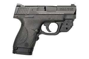10141-SW M&P Shield W/ Crimson Trace Green Laserguard