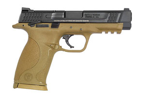 Smith & Wesson Semi-Automatic Pistol M&P Military Police Full Size Thumb Sfty Model - Click to see Larger Image