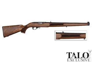 Ruger 10/22 Talo Edition Semi-Automatic 22LR Blue