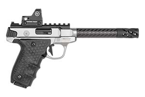 Smith & Wesson Pistol: Semi-Auto SW22 Victory Target Carbon Barrel Red Dot - Click to see Larger Image