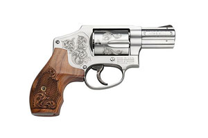 Smith & Wesson Revolver: Double Action Only Model 640 - Machine Engraved - Click to see Larger Image