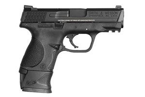Smith & Wesson Pistol: Semi-Auto M&P Military & Police Compact W/ Xgrip Mag Adap - Click to see Larger Image