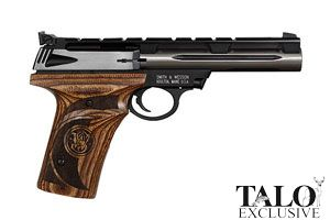 Smith & Wesson Semi-Automatic Pistol Model 22A Deluxe Talo Edition - Click to see Larger Image