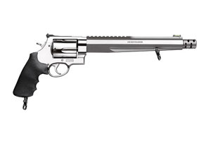Smith & Wesson|Smith & Wesson Performance Ctr Revolver: Double Action Model 460XVR Compensated Hunter Performance Cnt - Click to see Larger Image