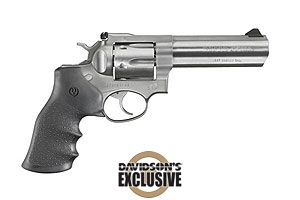 Ruger GP100 Double Action Revolver Double Action 357 Stainless Steel