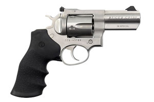 Ruger GP100 Double Action 38SP Stainless Steel