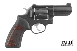 Ruger Revolver: Double Action GP100 WCGP-II TALO Edition - Click to see Larger Image