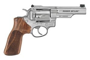 Ruger GP100 Match Champion Double Action Revolver Double Action 357 Satin Stainless