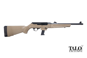Ruger Rifle: Semi-Auto PC Carbine Ruger Night Carbine TALO Edition - Click to see Larger Image