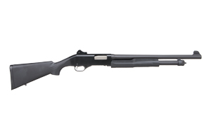 Savage Arms|Stevens 320 Security Pump Shotgun Pump Action 12 Gauge Matte Black