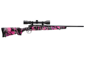 19975 Savage AXIS XP Youth Muddy Girl Camo