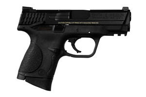 Smith & Wesson Pistol: Semi-Auto M&P Military & Police Compact, Thumb Sfty Model - Click to see Larger Image