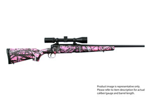 22230 Savage AXIS II XP Youth Muddy Girl Camo