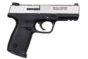 Smith & Wesson SD9 VE Double Action Only (Striker Fired) 9MM Black Polymer Frame, Satin Stainless Slide