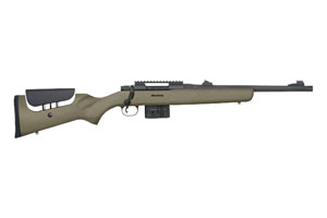 Mossberg MVP Long Range Tactical Bolt Action 308|7.62 NATO Matte Blue