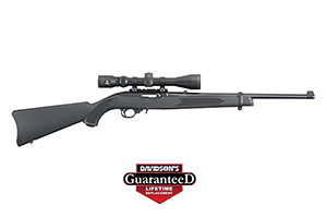 Ruger Rifle: Semi-Auto 10/22 Carbine W/ Viridian EON 3-9x40 Scope - Click to see Larger Image