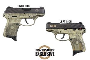 Ruger LC9 NRA Special Edition Double Action Only 9MM Blue Slide, Natural Gear Camo Frame