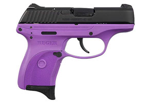 Ruger LC9 Ruger Lady Lilac Talo Edition Double Action Only 9MM Blue