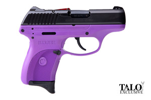 Ruger Pistol: Semi-Auto LC380 Lady Lilac TALO Special Edition - Click to see Larger Image